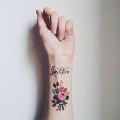 rifle paper co. x tattly temporary tattoo. #tattoo #tattoos #ink