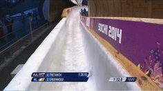 Irish Slider Falls Off Skeleton Sled, Climbs Back On, Finishes Run Sports Fails, Barrel Roll, Luge, Serious Injury, Sled, Sliders, Skeleton, Climbing, Irish