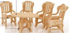 Resultado de imagen para muebles para muñecas de fibrofacil