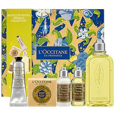 L'Occitane Invigorating Verbena Collection