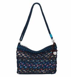 64 The Sak Classics Mini 3 in 1 Clutch Crossbody Vintage Blue Tribal NEW  S352. Best HandbagsTote ... c046569f4d