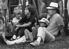 pierre trudeau in alberta during election -  What a great picture