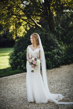 Bride in Essence of Australia Gown   Navy & Pink Colour Scheme   Matara Centre Wedding   Tracey Hosey Photography   http://www.rockmywedding.co.uk/laura-jules/