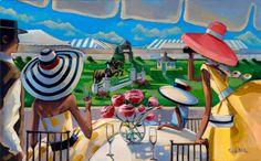 Trish Biddle ~ Art Déco painter