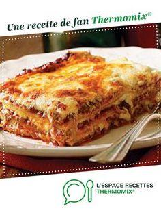 Lasagnes par littlemary. Une recette de fan à retrouver dans la catégorie Plat principal - divers sur www.espace-recettes.fr, de Thermomix®.