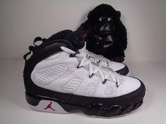 new arrival 327cf fa44c Kids Nike Air Jordan 9 Retro Basketball shoes size 2.5 Youth 401811-112   Nike  BasketballShoes