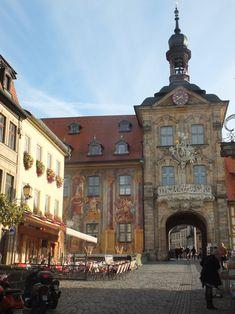 Altes Rathaus in Bamberg, Bayern (Bavaria), Southern Germany.