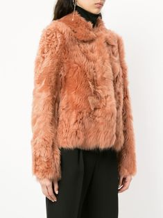 6ad20f2778083 14 Awesome trendy fur coats images | Fur coats, Fur collar coat, Furs