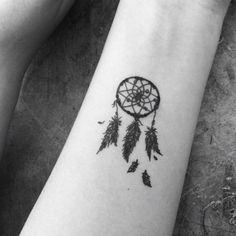 Wrist tattoo dreamcatcher