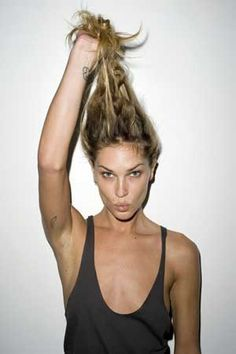 The girl who made me fall in love with Ombre hair; I love you Erin Wasson. So much.