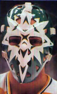 Gary Edwards Hockey Helmet, Hockey Goalie, Wild North, Hockey Rules, Goalie Mask, Best Masks, Minnesota Wild, Masked Man, School Style