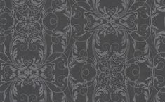 Ornate Lace Black wallpaper by Albany