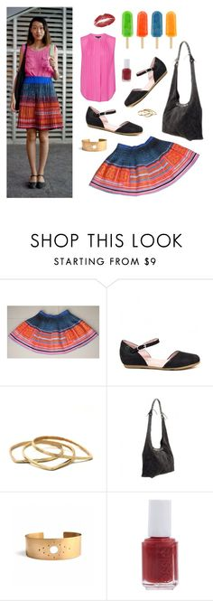 """""""China Street Style"""" by bulo-shoes on Polyvore featuring El Naturalista, Latigo, Essie, French Connection and vintage"""