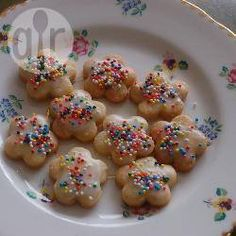 Recipe Image: Cookie dough for cutting Allrecipes, Brownie Cookies, Recipe Images, Cookie Dough, Doughnut, Bakery, Sweets, Breakfast, Desserts