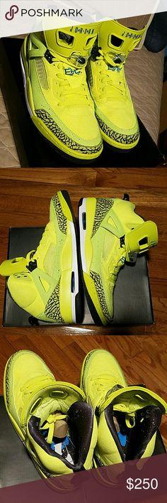 Jordan Spizike BHM (Black History Month) DS Worn only twice. Released 2013. Original box. Jordan Shoes Sneakers