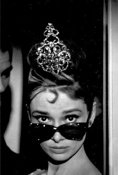 Audrey Hepburn photographed during the production of Breakfast at Tiffany's [1961]