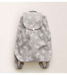 Grey Baggu Backpack - Functional & roomy! #Aerie
