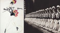 "#Rockettes rocking an eye-catching costume for ""Follow the Sun,"" which debuted in 1950. #WardrobeWednesday"