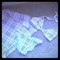 Novacheck plaid bikini are mistaken