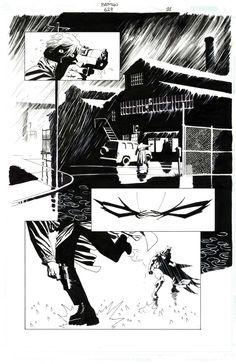 Eduardo Risso - Batman # 624 pg. 21 - Broken City Comic Art