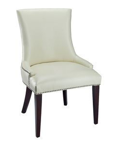 You need to see this Becca Leather Dining Chair on Rue La La.  Get in and shop (quickly!): http://www.ruelala.com/boutique/product/100690/30178853?inv=armoor04&aid=6191