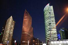 Potsdamer Platz - Berlin's answer to Times Square #berlin #germany