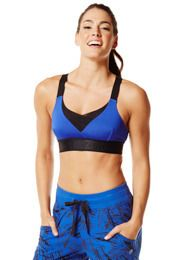 We Mesh Adjustable V-Bra | Zumba Wear