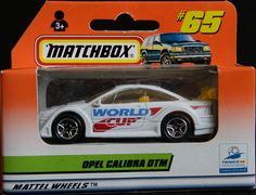 Model Matchbox Opel Calibra DTM