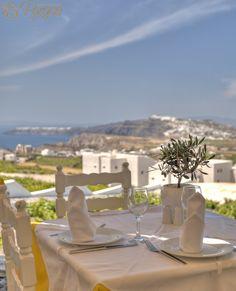 Pyrgos Tavern Restaurant Santorini, Greece