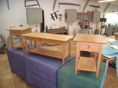 Hand Made Coffee/End tables by Byrd Woodworking | CustomMade.com