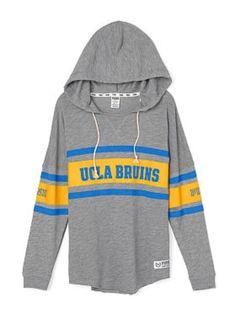 4e2826593835f1 UCLA Varsity Pullover Hoodie - PINK - Victoria s Secret Black Hooded  Sweatshirt