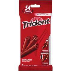 Trident Cinnamon Sugarless Gum, 3pk