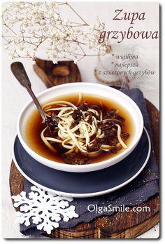 Mushroom soup - zupa grzybowa
