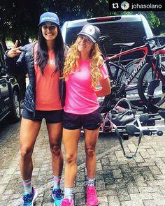Ánimo campeonas!  >>> Listas para darle con todo en Enrutados!!!!  #valledebravo #mexico #enruta2 #ciclismo #cycling #cyclist #ilovecycling #cyclistlife #cyclinglove #ciclistas #ciclismo #sportlovers  #deportistas #taymorylife