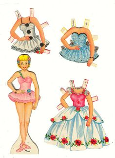 Circus Paper Doll
