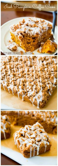 Readers have told me this is the best coffee cake they've ever made. Spiced-pumpkin, super-moist, and glazed.