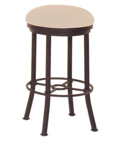 Chrysler Backless Bar Stool Custom Metal Bar Stools