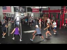 CrossFit Insanity Coach Joe with a Fun Class Warmup Drill - YouTube