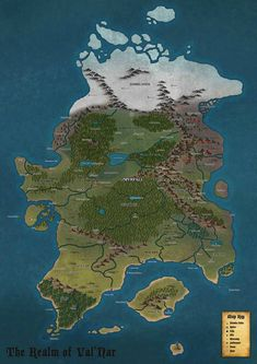 Homebrew Continent Map
