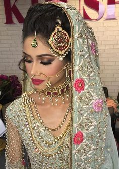 Would you rock this whole look for their wedding event? I know I sure would! Makeup by Juliealimakeup on Instagram, Jewelry and Clothing by @Onitaalondon on Instagram.
