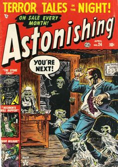 Horror Comics | HORROR ILLUSTRATED: More classic horror comics covers