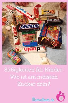 In welchen Süßigkeiten für Kinder ist am meisten Zucker drin? Snacks, Snack Recipes, Pop Tarts, Candy, Food, Babys, Kindergarten, Kids, Food And Drinks