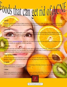 foods-that-can-get-rid-of-acne by Katycavallero00 via Slideshare