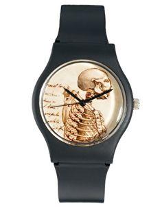 Enlarge MAY 28TH Skeleton Watch Black Matte Plastic Buckle    Image from ASOS.