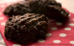Less Sugar Naturally: Double Chocolate Chip Cookie