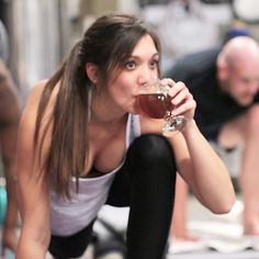 Blue Blaze Brewing Offers Boozy Yoga Classes With Free Pints Of Beer