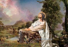 Jesus Oil Painting 029