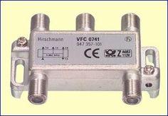Met het VFC0741 viervoudig verdeelelement splitst u een coaxkabel naar vier antenne aansluitdozen, bijvoorbeeld in vier kamers in uw huis. Vanwege de demping van 7,0 dB naar de uitgangen moet u echter wél een goede antenneversterker gebruiken, bijvoorbeeld de GHV20E, GHV820A of GHV830A. Dank zij de volledige afscherming verliest u geen beeldkwaliteit en worden geen stoorsignalen geïntroduceerd. http://www.vego.nl/hirschmann/vfc0741/vfc0741.htm