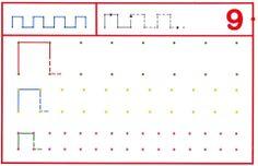 schrijfpatronen groep 2, free printable Preschool Kindergarten, Preschool Worksheets, Chateau Moyen Age, Prewriting Skills, Pre Writing, Home Schooling, Fine Motor Skills, Teaching Art, Primary School
