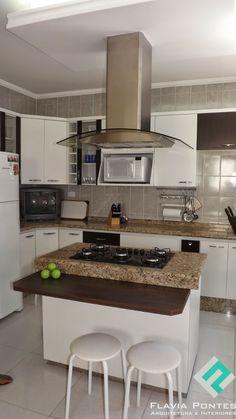 Cozinha - Reforma, Ilha